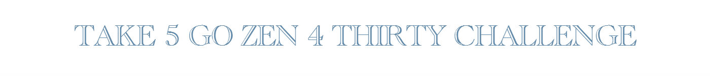 TAKE 5 4 THRITY BANNER